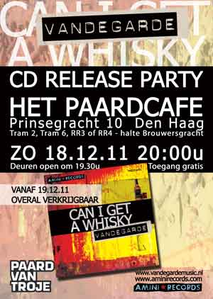 CD Release Party Can I Get A Whisky